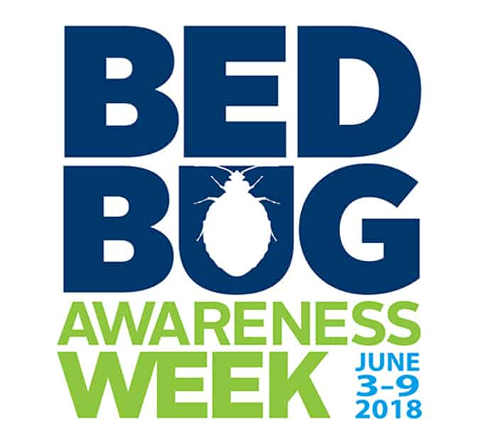 bed bug awareness week 2018 logo