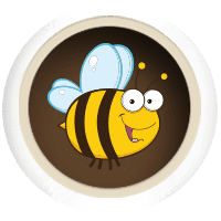 Happy bee reviewer image